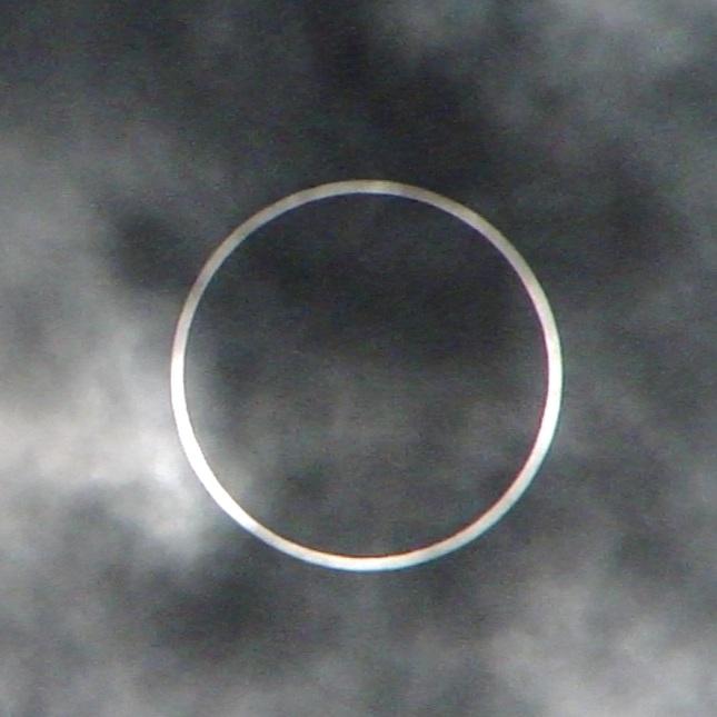 金環日食(2012年5月21日)