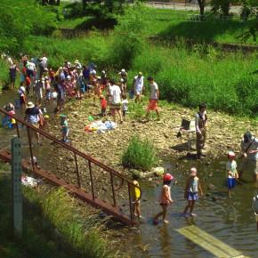 月寒川にぎわい川祭り