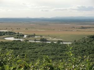釧路湿原、細岡展望台より
